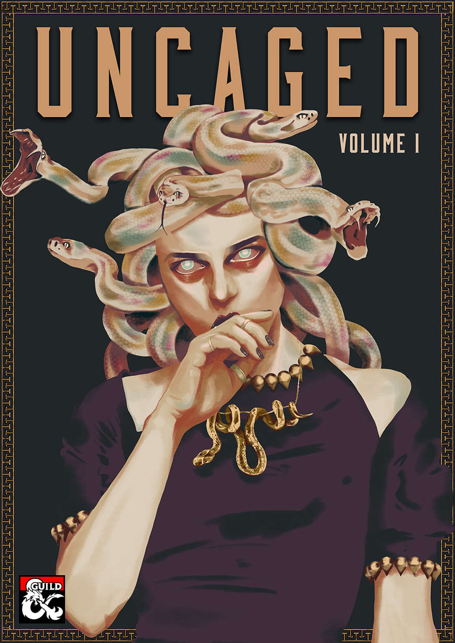 Uncaged Volume 1 cover art.