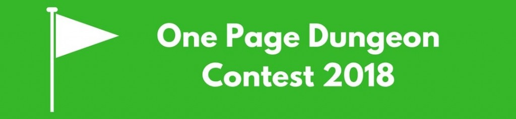 One Page Dungeon Contest 2018