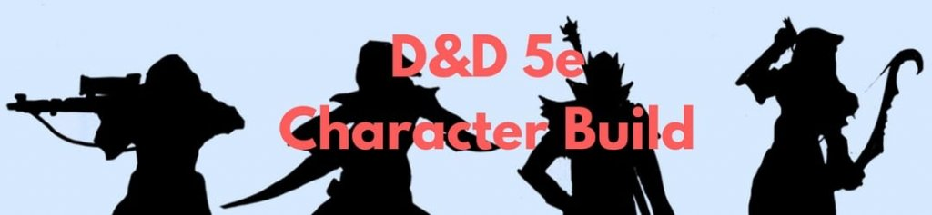 D&D 5e Character Build Post Header
