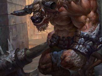 Minotaur Artwork