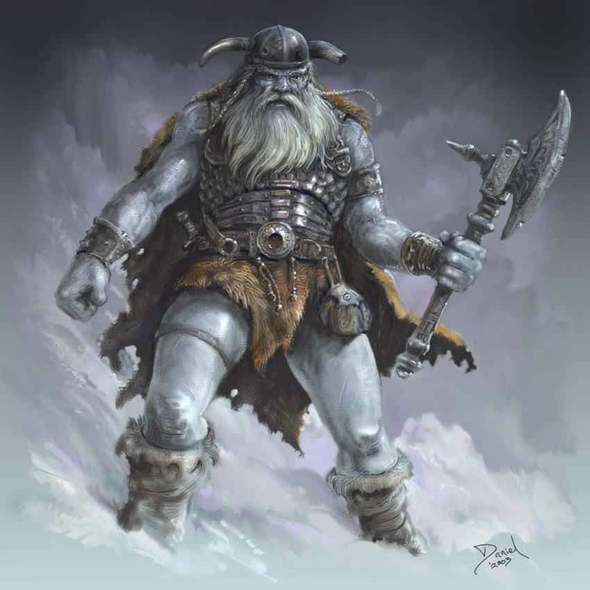 frost giant everlasting one DnD 5e