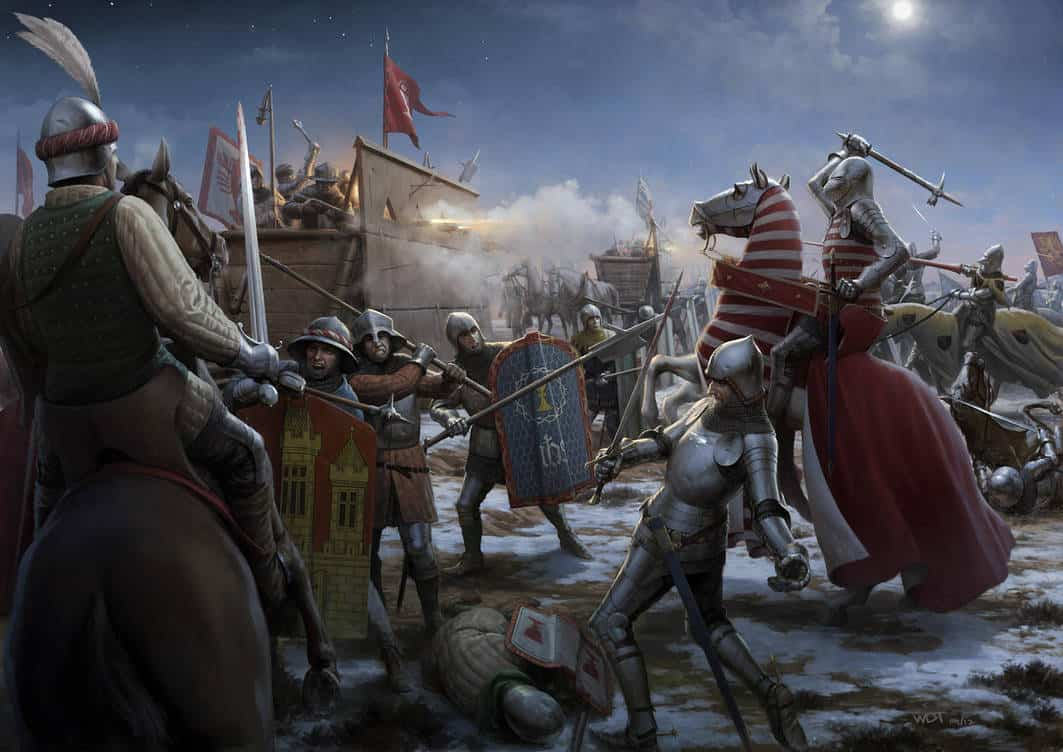 footsoldier battle medieval