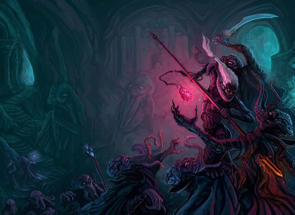 mind flayer D&D evil organization