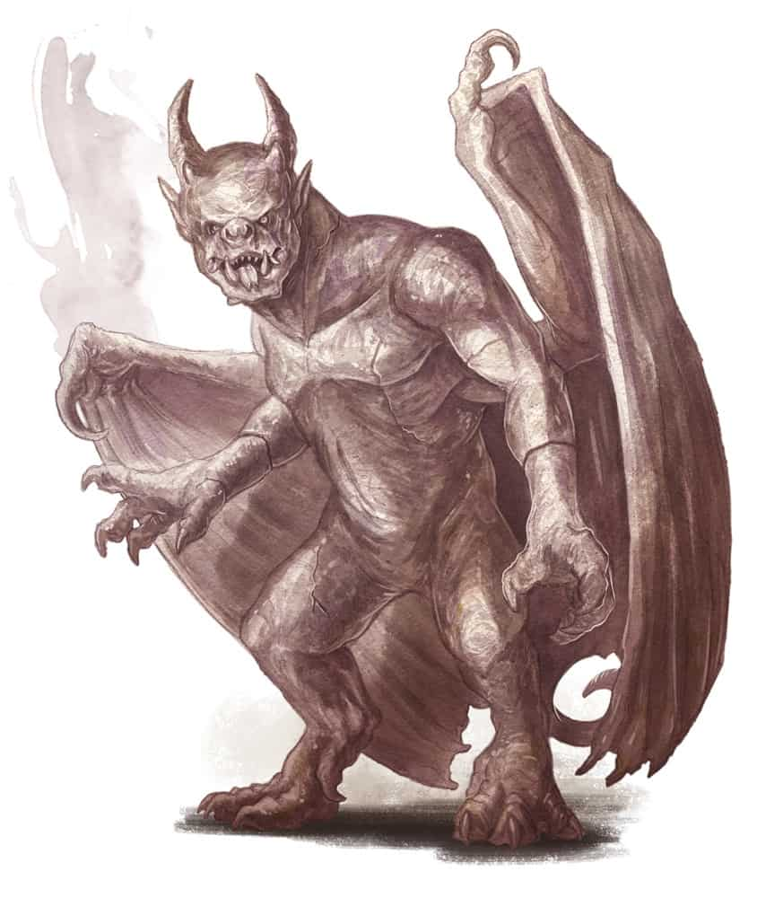 gargoyle from 5e monster manual