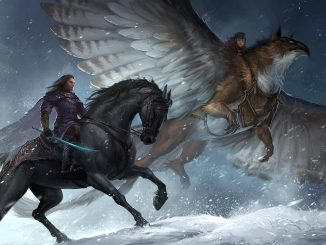 mounted combat DnD 5e griffon and horse