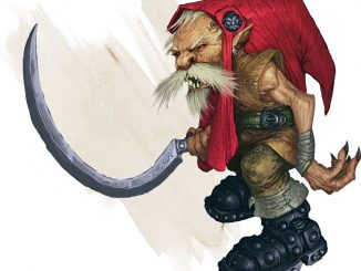 redcap art from Volo's Guide to Monsters