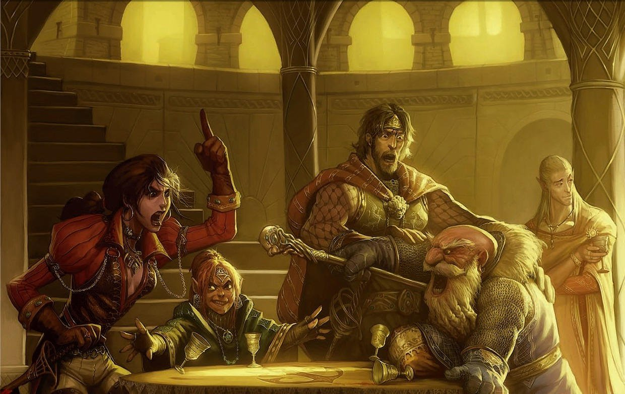D&D party argument metagaming