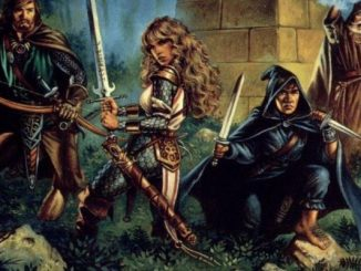 classic Dungeons & Dragons party