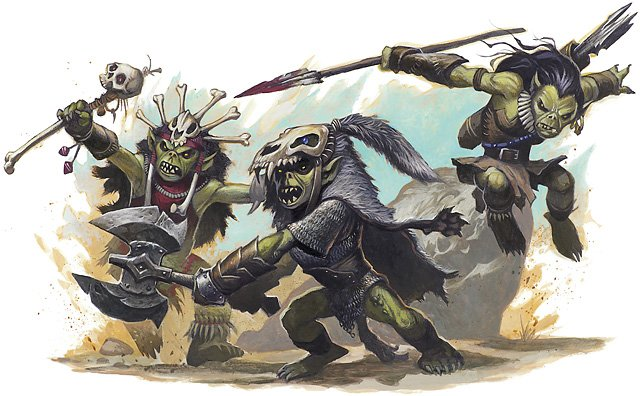 goblin boss art from DnD 4e