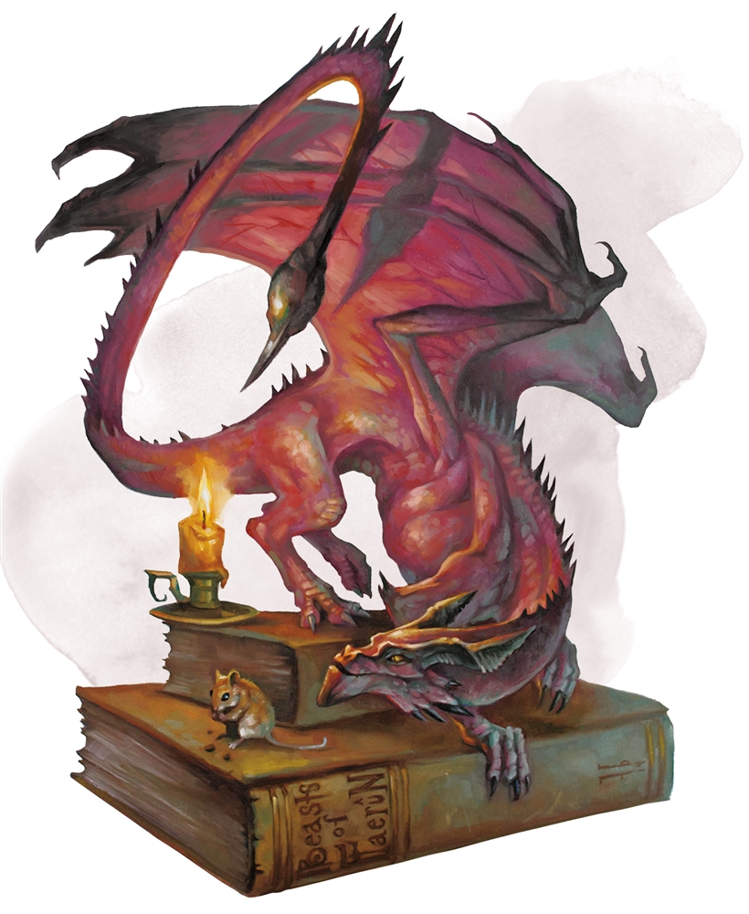 pseudodragon 5e artwork