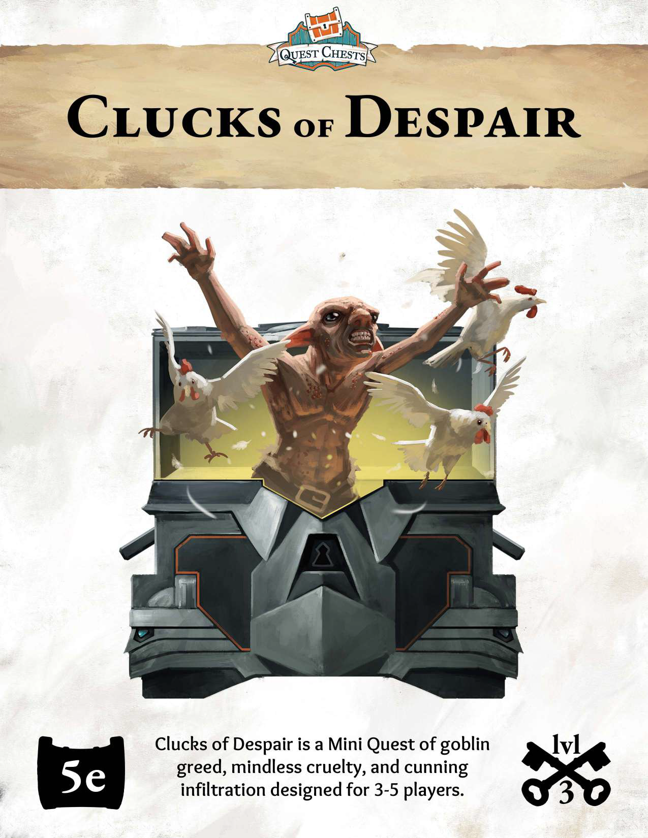 clucks of despair cover art