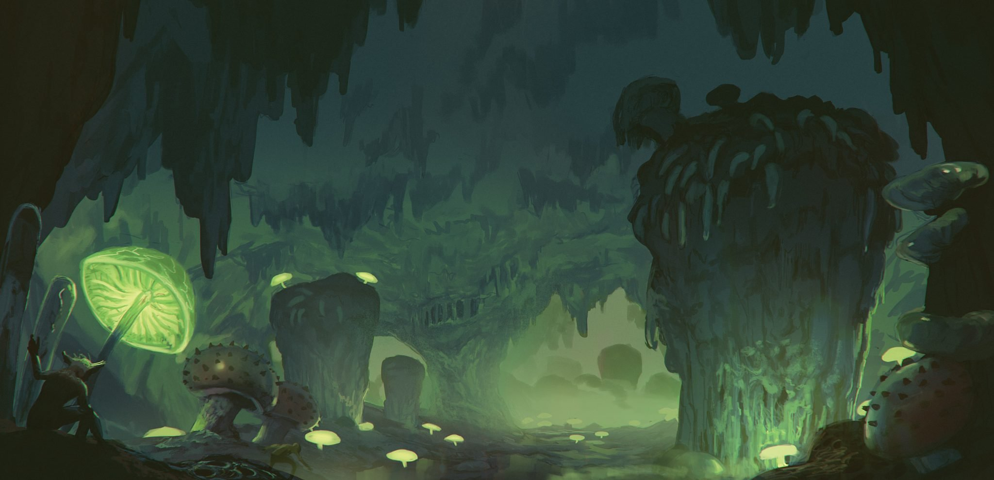 A typical cave goblin environment.