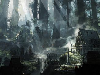 elven city from the D&D player's handbook