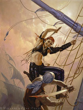 swashbuckler artwork magic the gathering