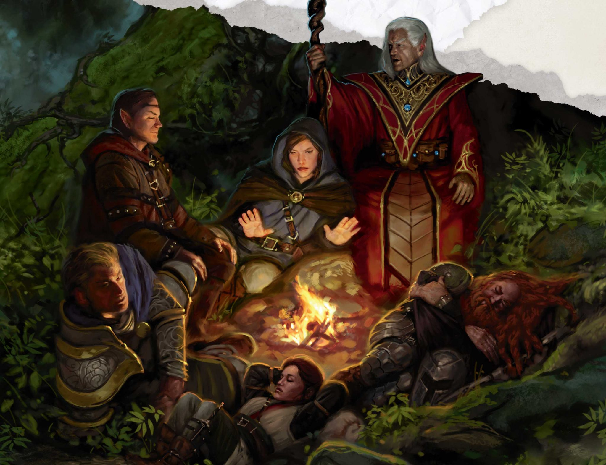 starter set party artwork for DnD 5e