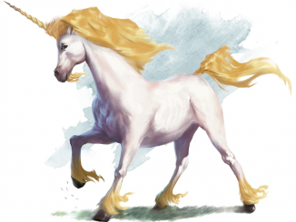DnD 5e unicorn art
