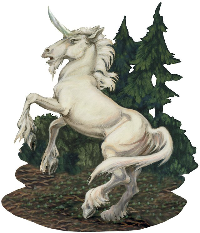 DnD 4e unicorn