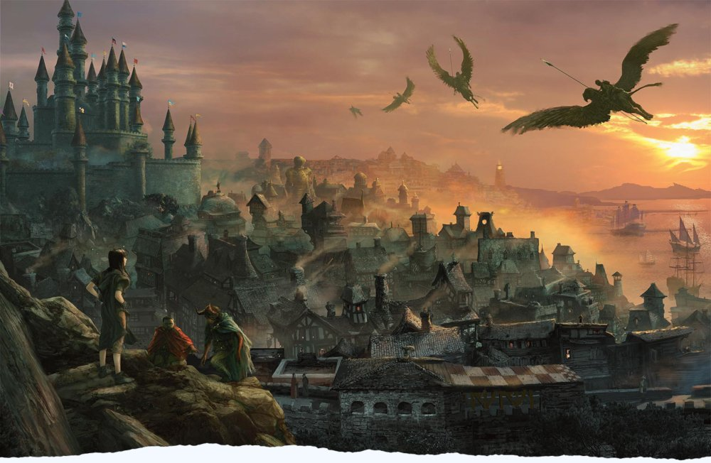 waterdeep city artwork