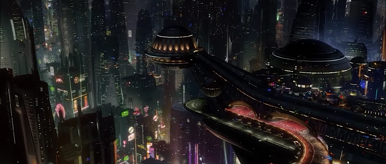 shot of Coruscant from revenge of the sith