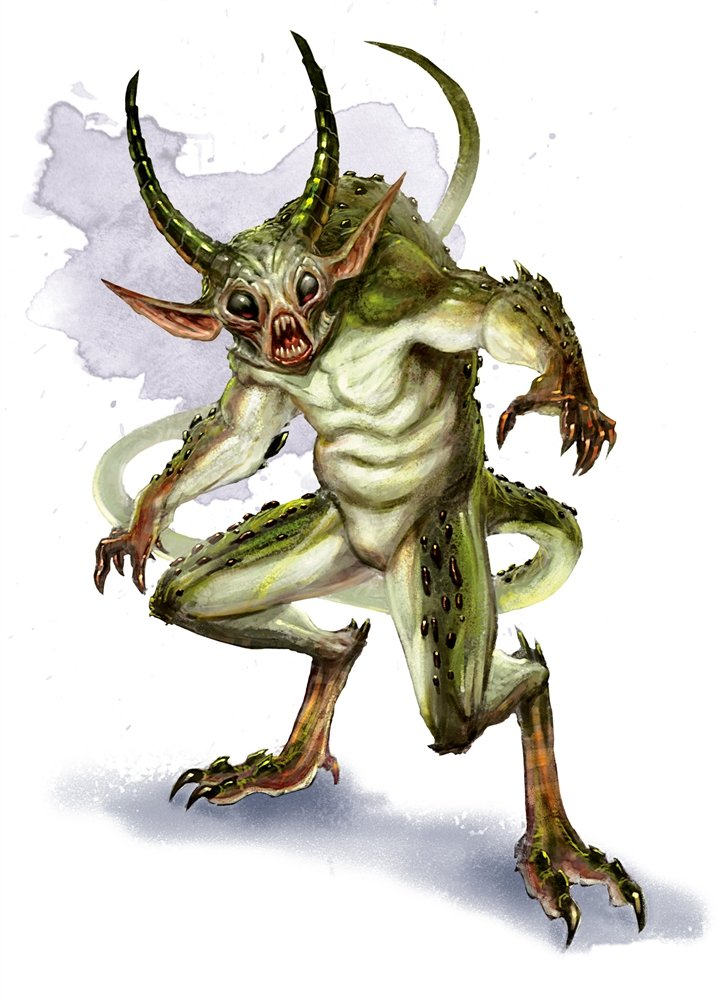 quasit monster manual art