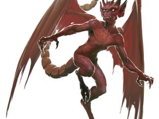 5e monster manual imp artwork