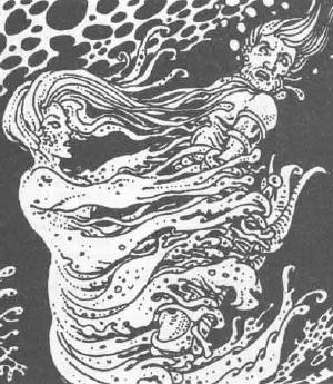 kelpie from DnD 1e's White Plume Mountain adventure