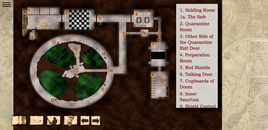 Beastmaster's Daughter Map