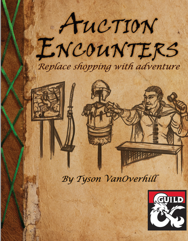 auction encounters cover page