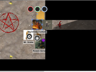 roll 20 map for my shadow of the demon lord campaign