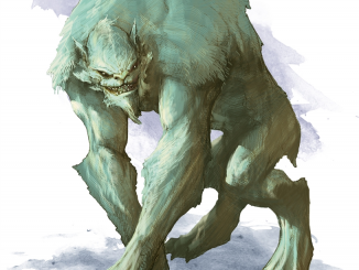 quaggoth 5e monster manual artwork