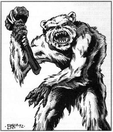2e quaggoth, i lied it's not a giant ewok