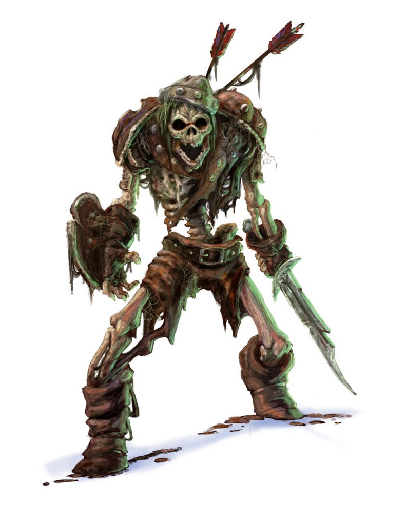 skeleton monster manual 5e