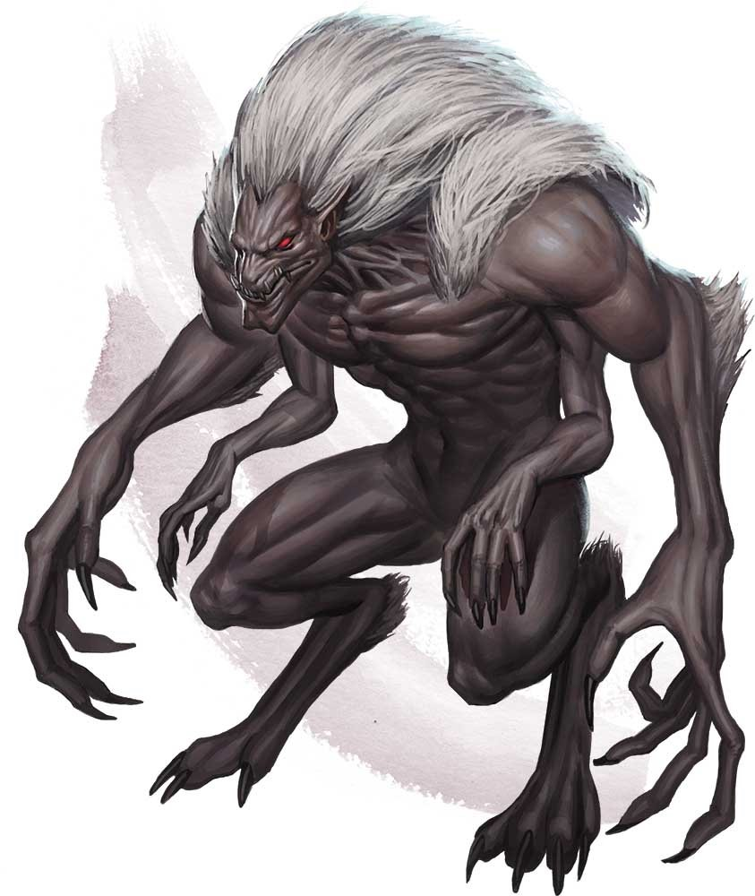 draegloth art from volo's guide to monsters