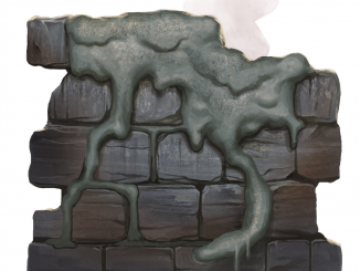 gray ooze monster manual art