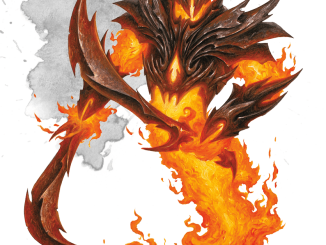 fire elemental myrmidon artwork