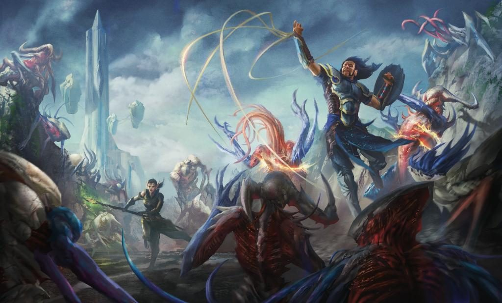 magic the gathering gate slaughter sea artwork