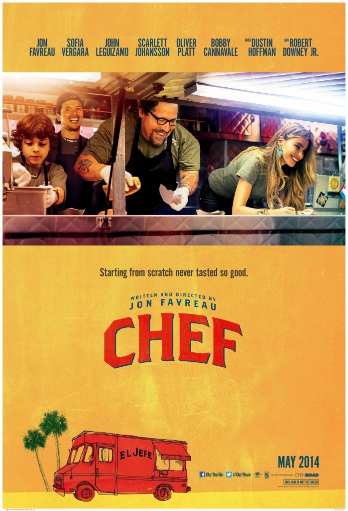 the poster for the movie Chef