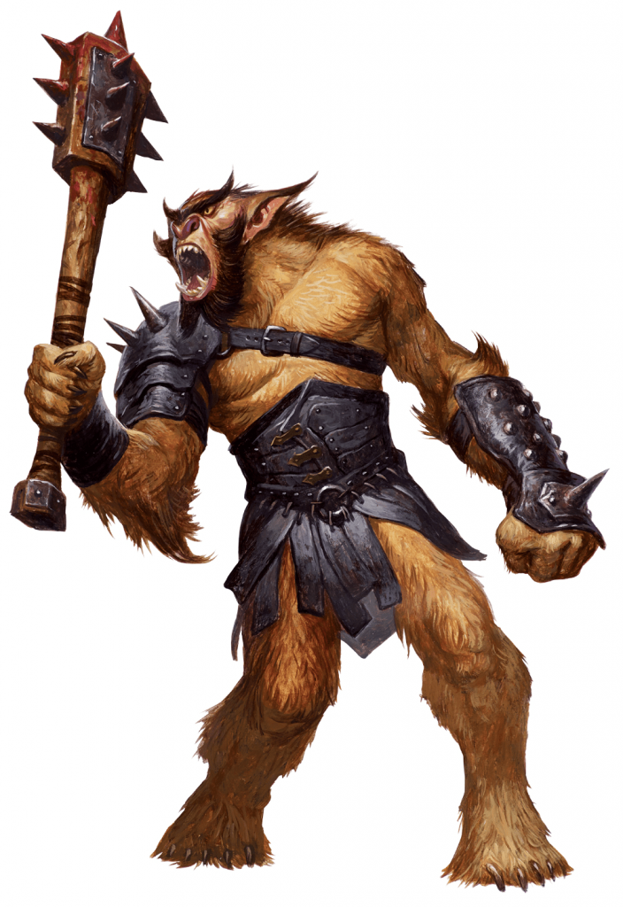 bugbear from the 5e monster manual