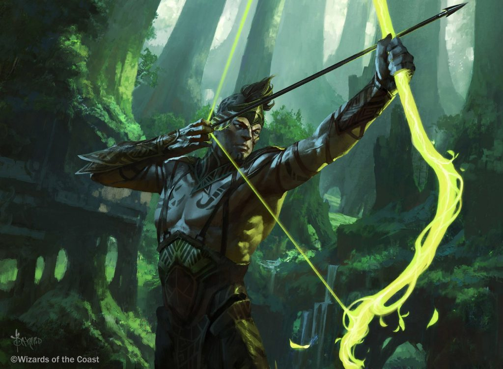 archer art from magic the gathering