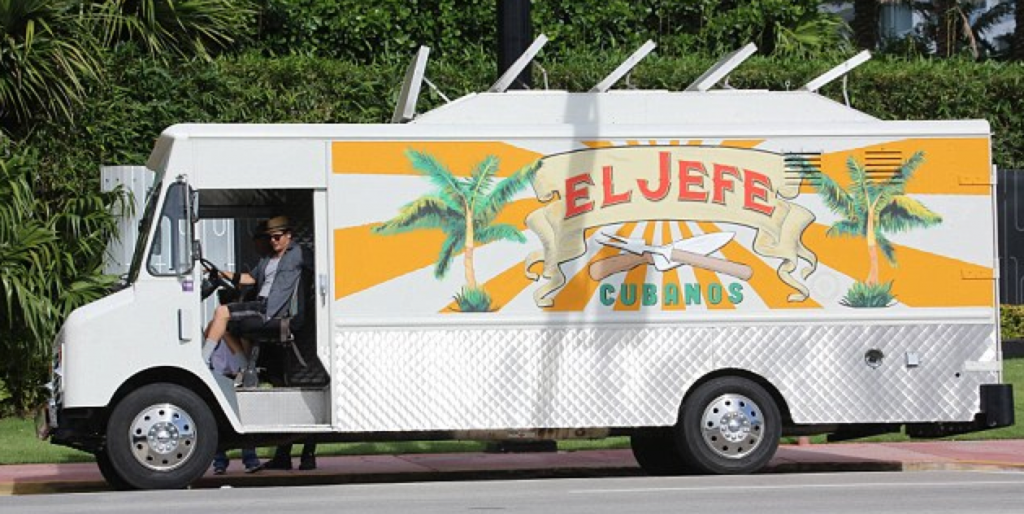 El Jefe food truck from Chef