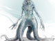skum from Ghosts of Saltmarsh. It's a translucent-white eldritch horror-looking creature with long dangly arms and four tentacles for legs.