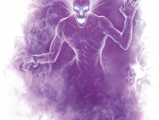 specter artwork from the 5e monster manual. It's very purple