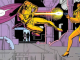 Ozymandias catching a bullet from The Watchmen comic